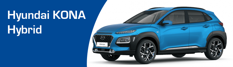 Hyundai KONA Hybrid operational lease